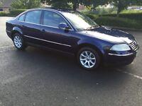 CHEAP 2004 VW PASSAT 1.9 TDI HIGHLINE ( FULL LEATHER) £850