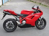 Ducati 848 - immaculate, 2009, 13800, carbon termis, major service and MOT, FDSH, alarm and more