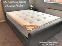 🏆🏆 HOTEL 11 INCH DEEP ~ FULL POCKET SPRUNG & DEEP ORTHO TOP LUXURY MATTRESSES