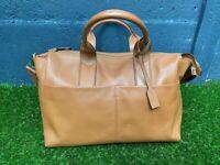 JEM + BEA Jemima Tan Leather Changing Bag