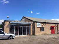 Spacious Unit to Rent - Showroom / Offices / Toilets / Kitchen 440 sqft (134 sqm)