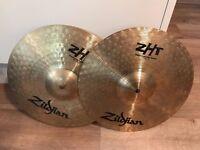 "13"" Zildjian ZHT Mastersound Hi-Hat Top & Bottom"