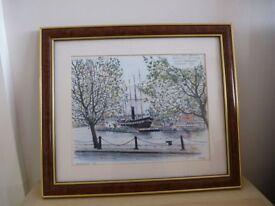 Lovely print of SS Great Britain by Vernon.