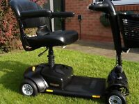 drive gogo elite traveller lx 12 months old only used occasionally black panels