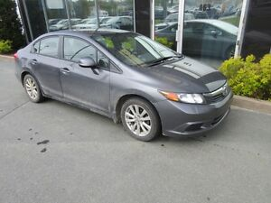 2012 Honda Civic SPORTY 5-SPEED WITH ALLOYS