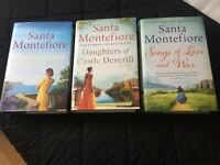 New set of three (trilogy) books by Santa Montefiore