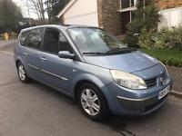 RENAULT GRAND SCENIC DYNAMIQUE DCI 7 SEATER 6 SPEED FULLY LOADED GLASS ROOF LONG MOT 2 KEYS