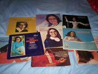 music albums, long plays. 13 in number, by same artiste, Nana Mouskouri