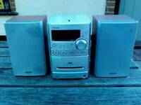 Cd radio mini music centre