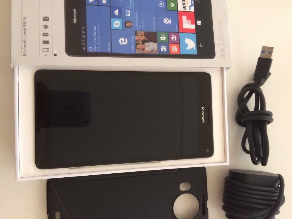 MICROSOFT LUMIA 950 XLSim Unlockedin Basildon, EssexGumtree - Just 6 month used phone buy in Argos £320 6month before. Phone is in perfect condition and working order.just a crack on back cover that doesnt affect nothing which easy can be removed or hided by a cover.selling because I need some money....