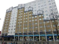 A cosy one bedroom apartment on the third floor of the Skyline Plaza on Commercial Rd.