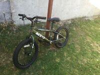 Green child's Bike