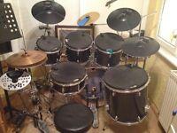 6 piece Mapex drum kit