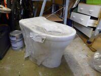 Bathroom sink and toilet