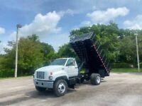 2000 Chevrolet C6500 Stake Side Dump Truck *UNDER CDL* 23,100 LB GVWR