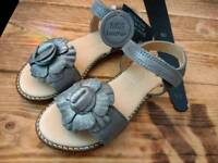 Brand new leather girls sandals M&S size 9