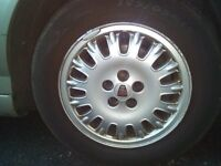 Rover 75 alloy wheels set of 4 in good condition