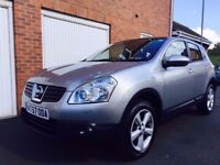 2007 57 Nissan Qashqai 1.5 DCI Tekna**Full Nissan S.H.**135,000 Miles TOP OF RANGE not x trail kuga