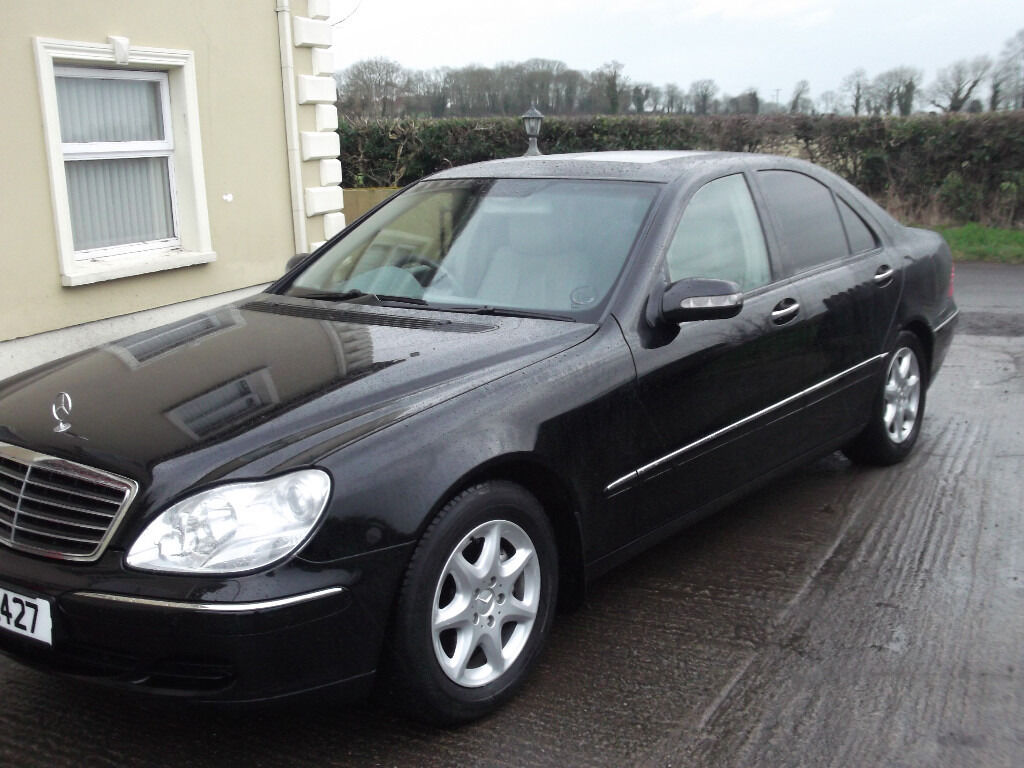 mercedes s class 320 cdi 2004 in cookstown county tyrone gumtree. Black Bedroom Furniture Sets. Home Design Ideas