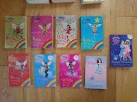 The Rainbow Magic Fairy books plus 2 Tiara Club titles. Bundle of various titles, see pic. Used.