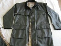 LAST MINUTE BARGAIN. Quality ladies ASPEN black waxed coat, small. As new £15
