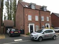 FOUR BEDROOM-3 BATHROOM-NEWLY BUILT HOME-FULLY FURNISHED-£1350PCM-GARAGE-DRIVEWAY-CLOSE TO QE HOSP