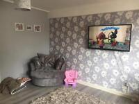 2/3 bed house wanted for 2 bed flat £1000 on top