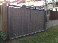 3 x Sections of Heras Fencing