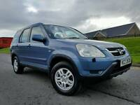2004 Honda CR-V 2.0 I-Vtec Se Sport 4x4 (AUTOMATIC) ONLY ONE OWNER! FULL SERVICE HISTORY! MOT SEP