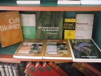 Science and biology books