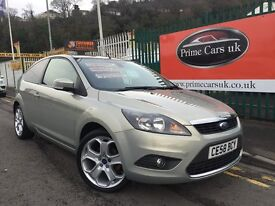 2008 58 Ford Focus 1.6 TDCi DPF Titanium 3dr 5 Speed Manual Turbo Diesel Top Model