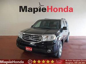 2014 Honda Pilot EX-L|Leather|Sunroof|Alloy Wheels|AWD| USB!