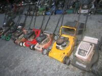 Rotary Mowers for Spares or Repair (8) Lot 2 £50