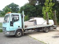 IVECO BEAVER TAIL RECOVERY