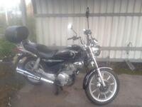 Yamaha YBR Custom 125