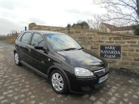 Vauxhall Corsa Active In Black, 2005 55 reg, Only One Former Owner, Last Owner From 2007