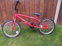 Child's BMX bike