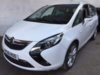 2016 VAUXHALL ZAFIRA TOURER.BRILLIANT DRIVE. 1 OWNER. LOW MILEAGE. FULL HISTORY. 3 MONTHS WARRANTY.
