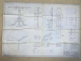 Table design drawings