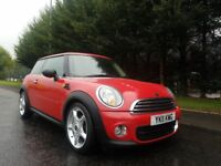 MARCH 2011 MINI ONE 1.6 DIESEL 6SPEED BRIGHT RED £0 ROADTAX EXCELLENT CONDITION THOUGHOUT GREAT MPG