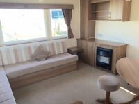 STATIC CARAVAN FOR SALE AT CRIMDON DENE SITE FEES INCLUDED UNTIL 2018 SEA VIEW PITCHES AVAVILABLE