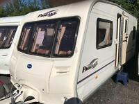 Bailey Bordeaux 2006 fixed bed with motor mover touring caravan