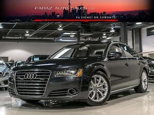 2014 Audi A8 TDI|NIGHTVISION|BLINDSPOT|BRAKE GUARD|LANE DEP|FUL