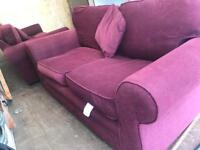 2x 2 seater sofas / settees for sale
