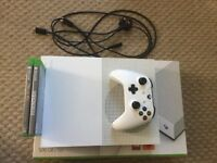 Xbox One S 500GB 1 Controller 2 Games