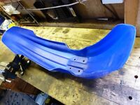 YAMAHA DTR125 SIDE PANNEL,S AND FRONT MUD GAURED