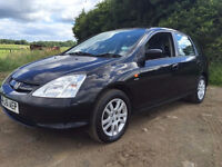 2001 51 HONDA CIVIC EXECUTIVE MOT 1/2017 GREAT FAMILY CAR DELIVERY ANY WHERE IN UK