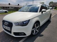 2011 Audi A1 1.6 TDI Sport 3dr White only 28000 miles Full Service History