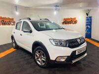 2018 DACIA SANDERO STEPWAY 1.5 DCI ** ONLY 11,000 MILES ** EXCELLENT FINANCE AND PCP DEALS