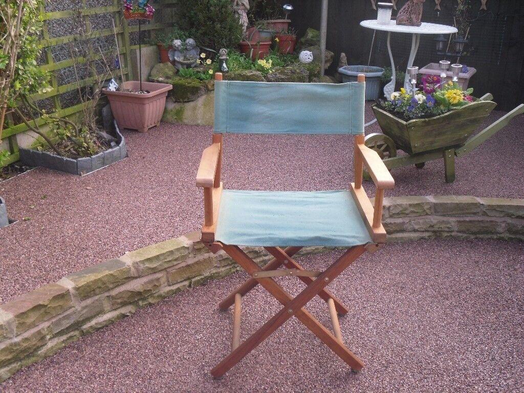 Garden director stile chair